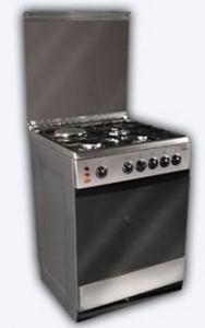Ardo C631 Eb Inox Kuchnia Gazowo Elektryczna 60cm