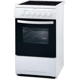 ZANUSSI ZCV562NW1 Kuchnia Elektryczna Z Płytą Ceramiczną Wolnostojąca Biała