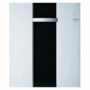GORENJE DFG 2072 P2 Front Ozdobny Do Zmywarki 59,6x71,7x5 Aluminium+Czarne Szkło