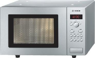 BOSCH HMT 75M451 Kuchenka Mikrofalowa Wolnostojąca Srebrna